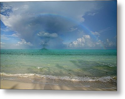 Caribbean Waterspout  Metal Print