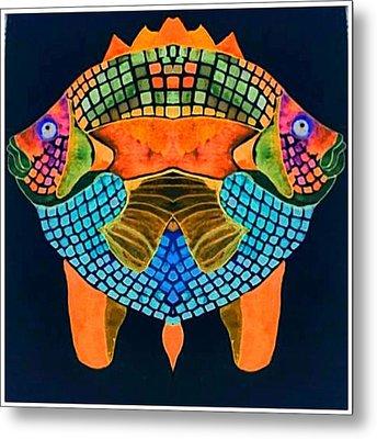 Caribean Fish Metal Print