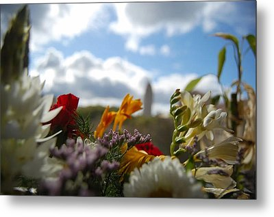 Carillon From The Gardens Metal Print