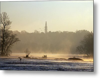 Carillon Mist Metal Print by Kelvin Booker
