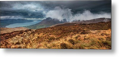 Carlingford Lough Metal Print by Marty Garland