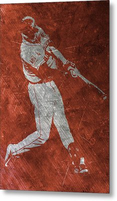 Carlos Correa Houston Astros Art Metal Print