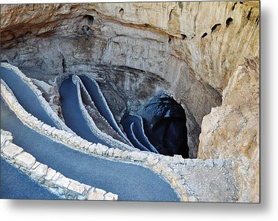 Carlsbad Caverns Natural Entrance Metal Print by Kyle Hanson