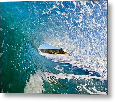 Metal Print featuring the photograph Carmel Blues by Paul Topp
