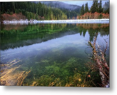 Metal Print featuring the photograph Carmen Reservoir by Cat Connor