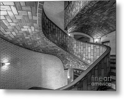 Carnegie Mellon University Baker Hall Stairway Metal Print