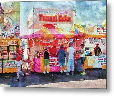 Carnival - The Variety Is Endless Metal Print by Mike Savad