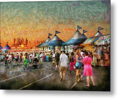 Carnival - Who Wants Gyros Metal Print by Mike Savad
