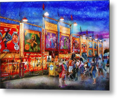 Carnival - World Of Wonders Metal Print by Mike Savad