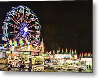carnival Fun and Food Metal Print by James BO  Insogna