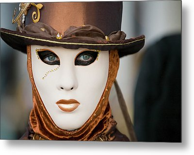 Metal Print featuring the photograph Carnival In Brown by Stefan Nielsen