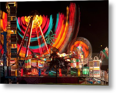 Carnival In Motion Metal Print by James BO  Insogna