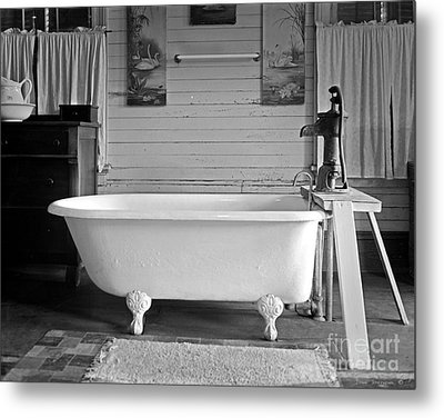 Caroline's Key West Bath Metal Print by John Stephens
