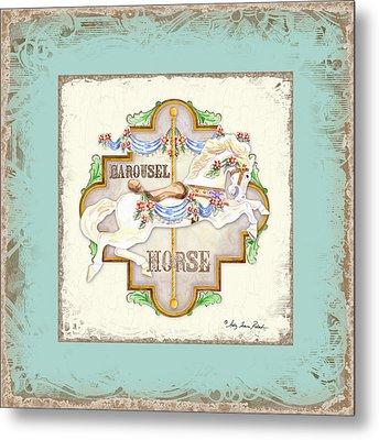 Carousel Dreams - Horse Metal Print