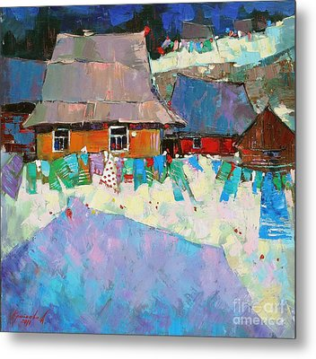 Carpathian Assorted Metal Print by Anastasija Kraineva