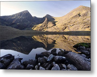 Carrauntoohill Ireland's Tallest Mountain Metal Print by Pierre Leclerc Photography