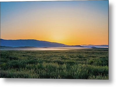 Carrizo Plain Metal Print by Joseph Smith
