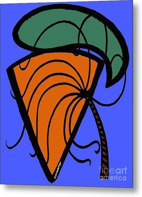 Carrot And Stick Metal Print by Patrick J Murphy