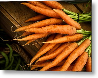 Carrots Metal Print by Tanya Harrison