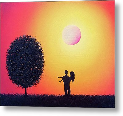 Carry On Metal Print by Rachel Bingaman