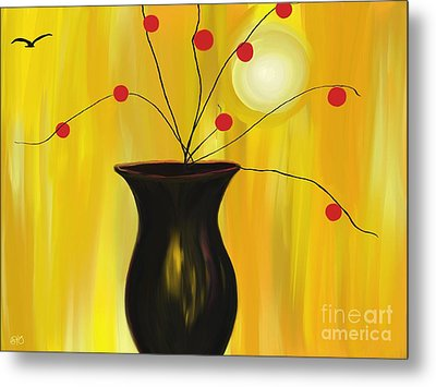 Carrying On Metal Print by Roxy Riou
