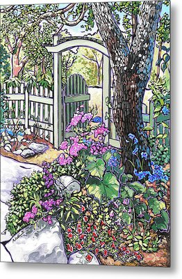 Carter Garden Metal Print by Nadi Spencer