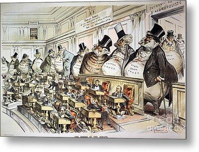 Cartoon: Anti-trust, 1889 Metal Print by Granger