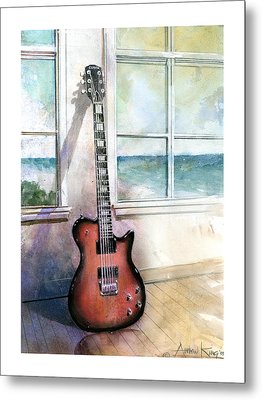Carvin Electric Guitar Metal Print