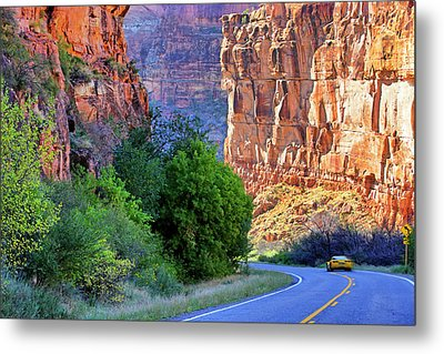 Carving The Canyons - Unaweep Tabeguache - Colorado Metal Print by Jason Politte