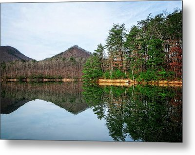 Metal Print featuring the photograph Carvins Cove  by Alan Raasch