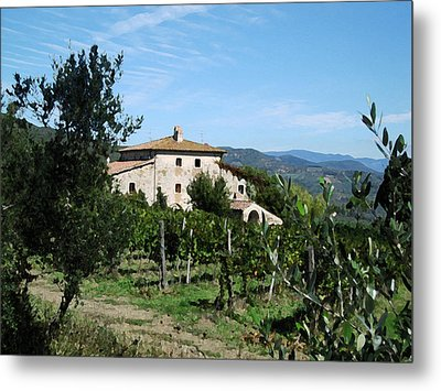 Casa Bella Metal Print by Paul Barlo