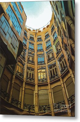 Metal Print featuring the photograph Casa Mila - Barcelona by Colleen Kammerer