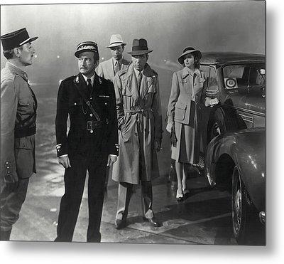 Casablanca Movie Still  1942 Metal Print