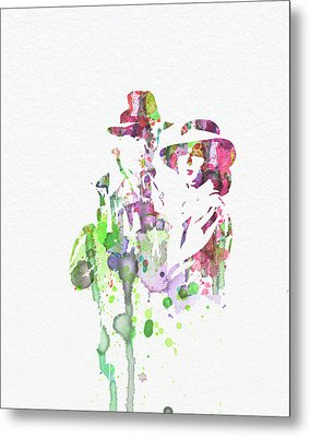 Casablanca Metal Print by Naxart Studio