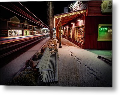 Metal Print featuring the photograph Cascade Avenue by Cat Connor