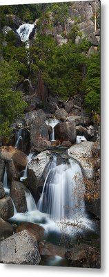 Cascade Creek Metal Print by Bernard Chen