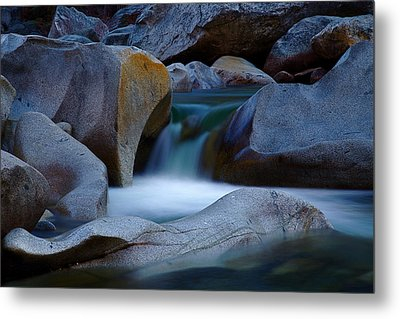 Cascade Metal Print by John Daly