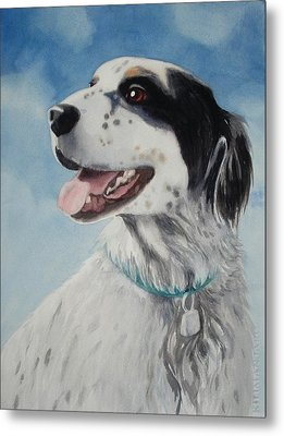 Metal Print featuring the painting Casey by Marilyn Jacobson