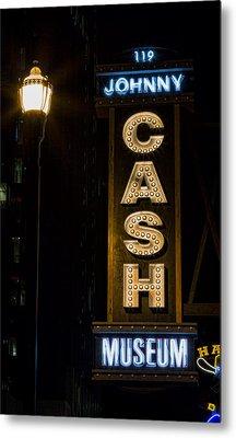 Cash Metal Print
