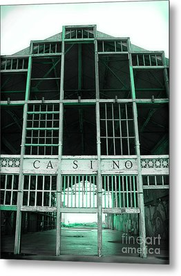 Casino Metal Print by Colleen Kammerer