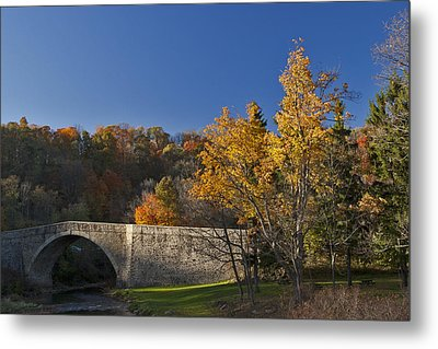 Casselman River Bridge Metal Print by Gregory Scott
