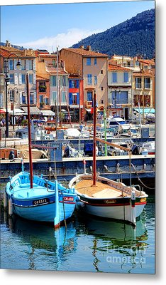 Metal Print featuring the photograph Cassis Harbor by Olivier Le Queinec