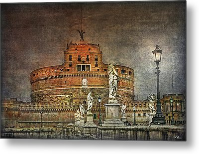 Metal Print featuring the photograph Castel Sant Angelo Fine Art by Hanny Heim