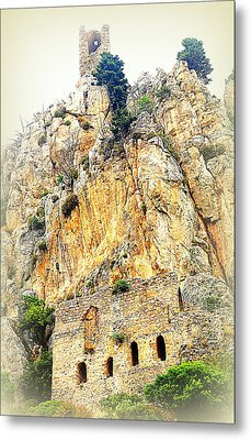 Living In The Old Castle  Metal Print by Hilde Widerberg
