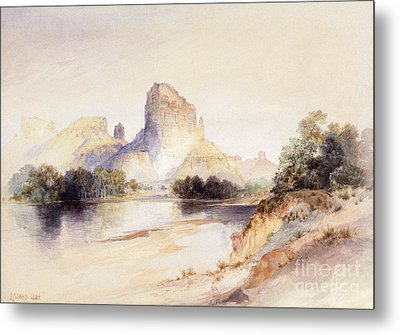Castle Butte, Green River, Wyoming Metal Print