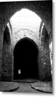 Castle Dungeon Metal Print by John Rizzuto