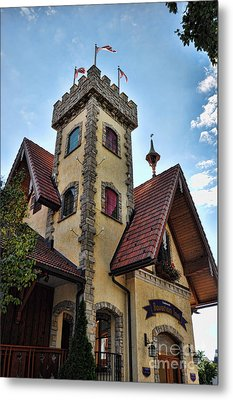 Castle Frankenmuth Metal Print by Chris Fleming