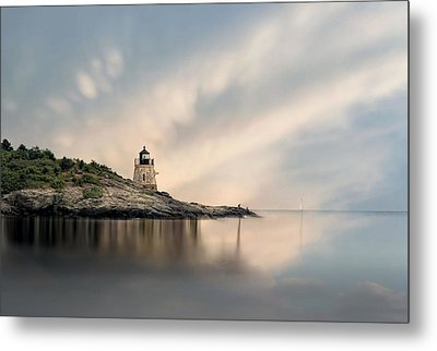 Castle Hill Light Metal Print by Robin-Lee Vieira
