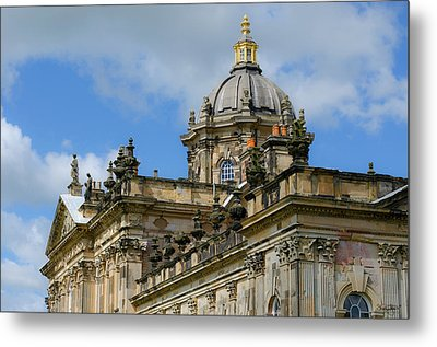 Castle Howard Roofline Metal Print