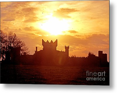 Castle Northern Ireland Metal Print by Thomas R Fletcher